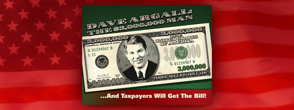 Citizens Alliance of Pennsylvania PAC $3 Million Man Newspaper Insert