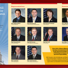 Citizens Alliance of Pennsylvania PAC Hope for Pennsylvania Brochure