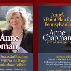 Anne Chapman Palm Card