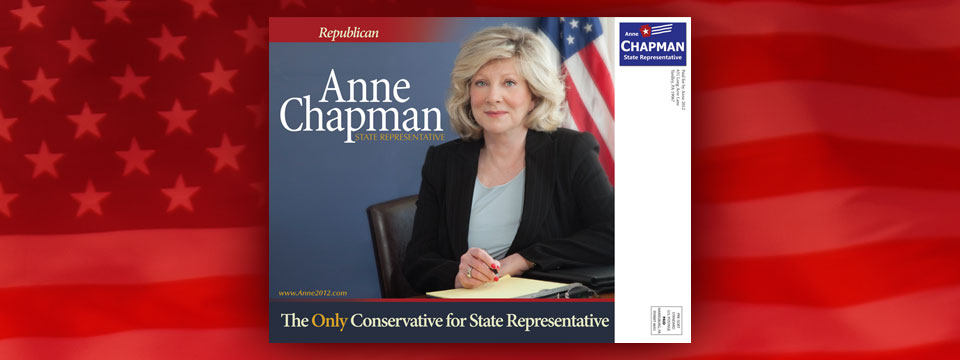 Anne Chapman True Conservative Postcard