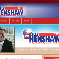 Kelly Henshaw 2012 Web Site