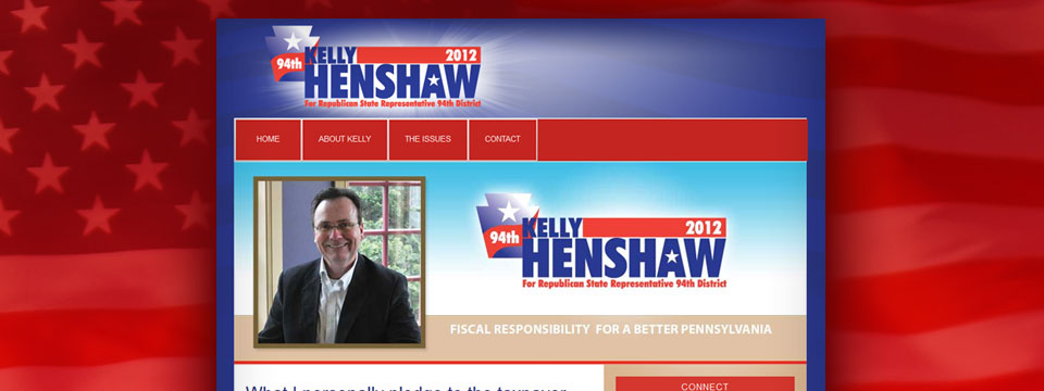 Kelly Henshaw 2012 Web Site