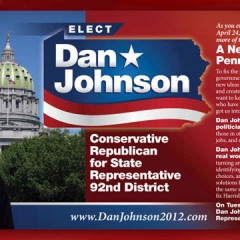 Dan Johnson New Vision for Pennsylvania Postcard