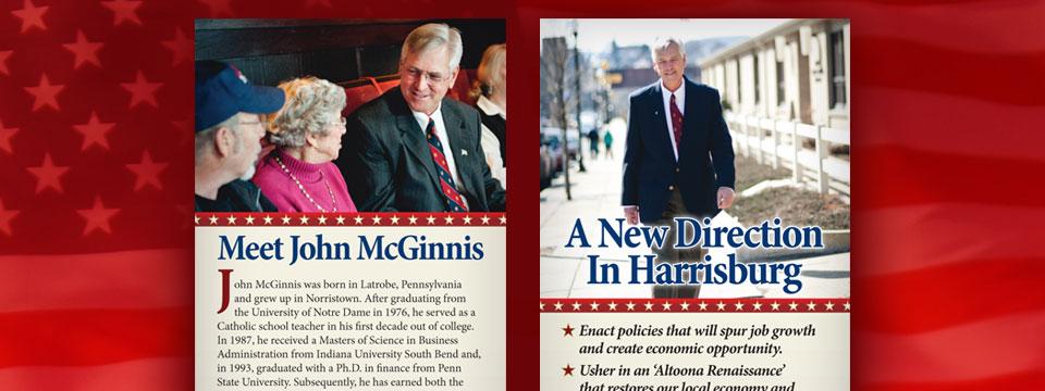 "John McGinnis ""Meet John McGinnis"" Palm Card"