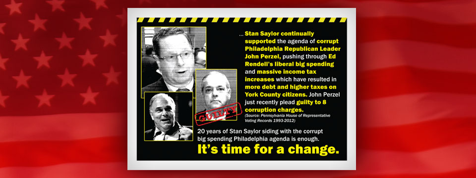 Scott R. Wagner Time for a Change Postcard 1