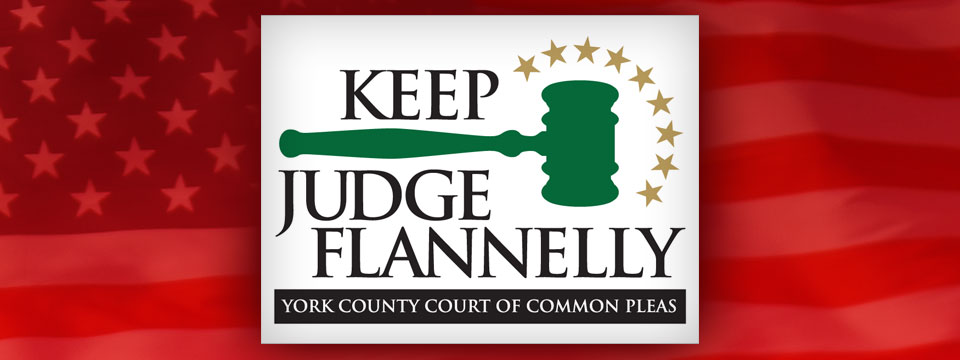Keep Judge Flannelly Logo