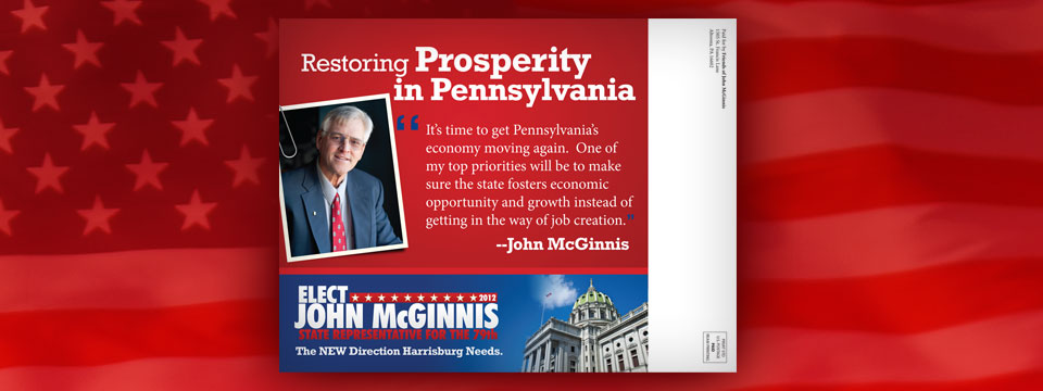 "John McGinnis ""Restoring Prosperity"" Mailer"