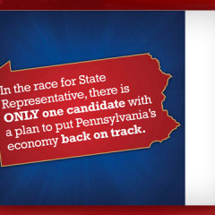 "John McGinnis for State Representative ""On Track"" Mailer"