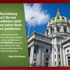 "John McGinnis for State Representative ""Reforming Harrisburg"" Mailer"