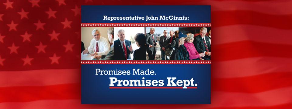 Representative John McGinnis Thank You Mailer