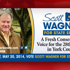 Scott Wagner for State Senate Billboard