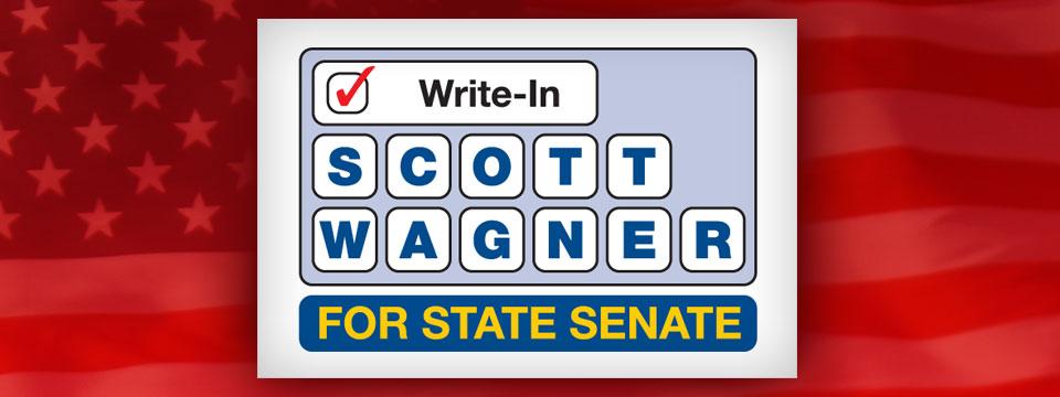 Scott Wagner Write-In Logo