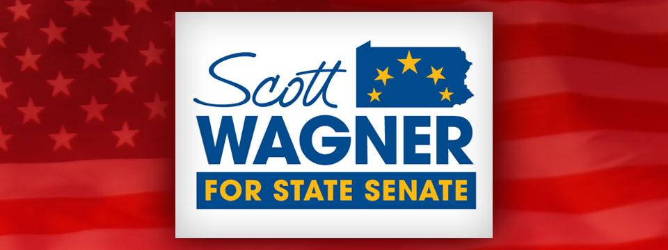 Scott Wagner for State Senate Logo