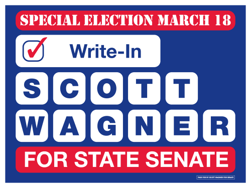 Write-In-Scott-Wagner-Yard-Sign