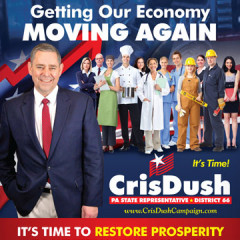 "CAP Cris Dush ""Getting Our Economy Moving"" Mailer"