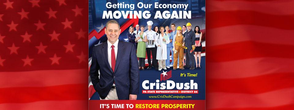 "CAP Cris Dush ""Getting Our Economy Moving"" Mailer"
