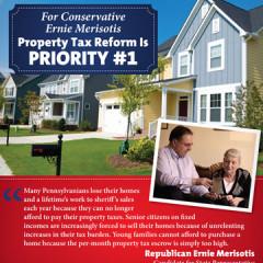 "CAP Ernie Merisotis ""Property Tax"" Mailer"