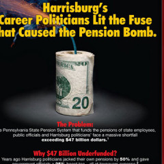 "CAP Jerry Knowles ""Pension Crisis"" Mailer"