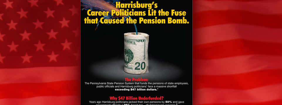 "CAP Jerry Knowles ""Pension Crisis"" Mailer"
