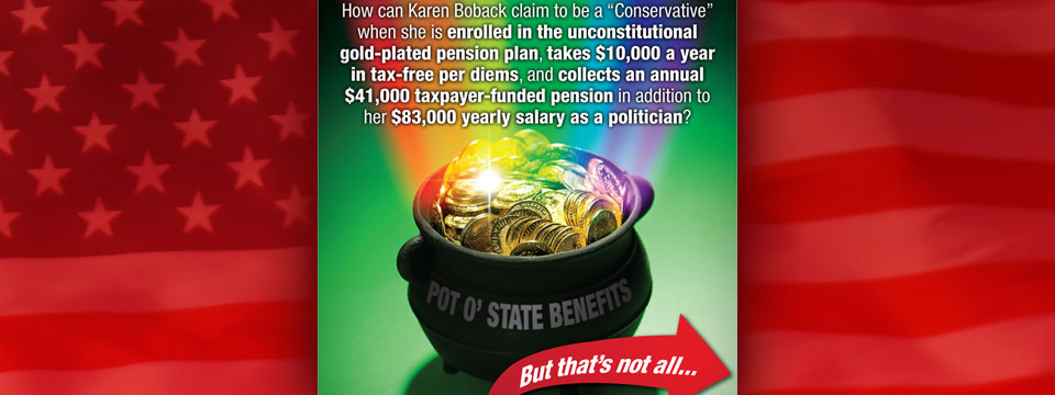"CAP Karen Boback ""Pot of Gold Benefits"" Mailer"