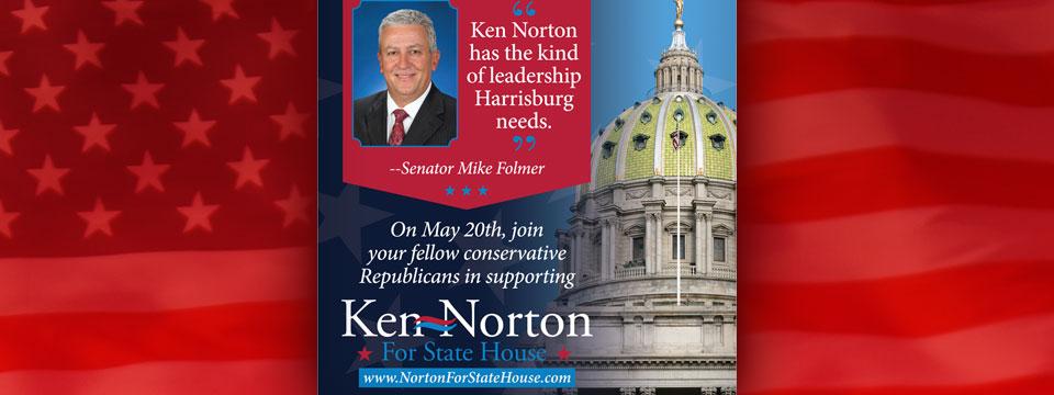"CAP Ken Norton ""Mike Fulmer Endorsement"" Mailer"