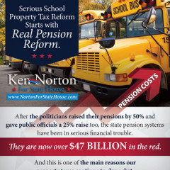 "CAP Ken Norton ""School Tax"" Mailer"