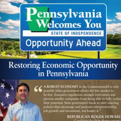 "CAP Roger Howard ""Restoring Opportunity"" Mailer"