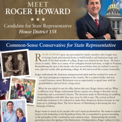"CAP ""Meet Roger Howard"" Mailer"