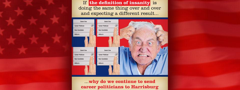 CAP Aaron Kaufer Insanity Mailer
