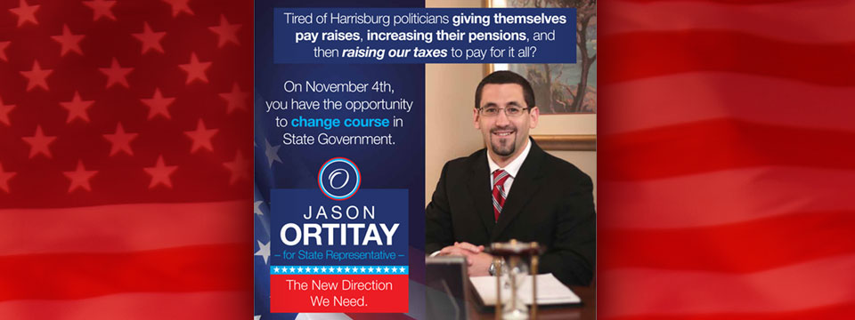 CAP PAC Jason Ortitay New Direction Mailer