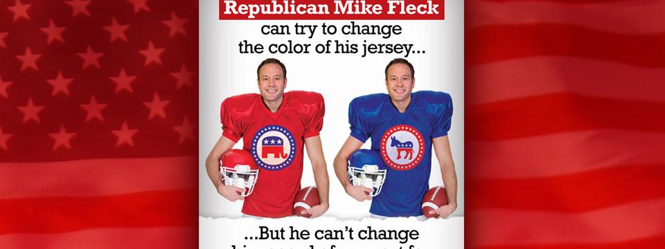 CAP PAC Mike Fleck Jersey Mailer