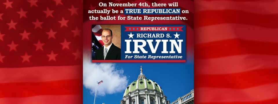 CAP PAC Rich Irvin True Republican Mailer