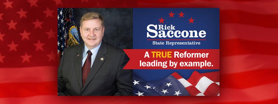CAP PAC Rick Saccone True Reformer Mailer