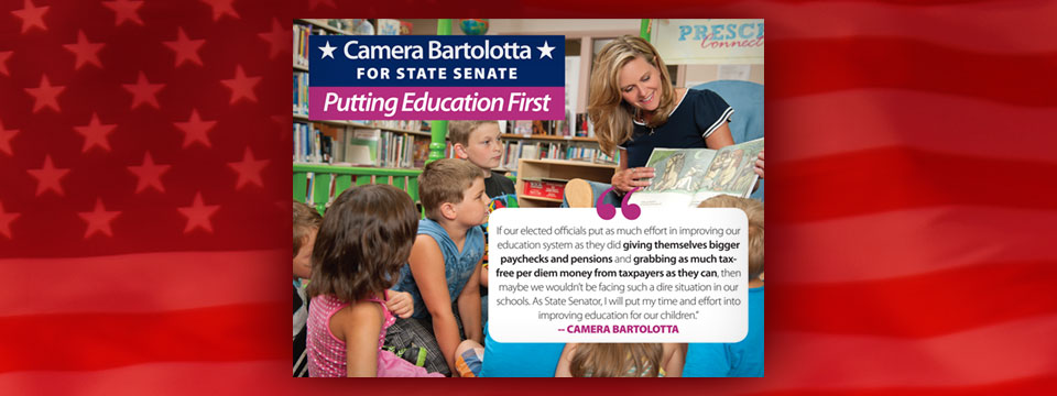Reform PA PAC Camera Bartolotta Education First Mailer