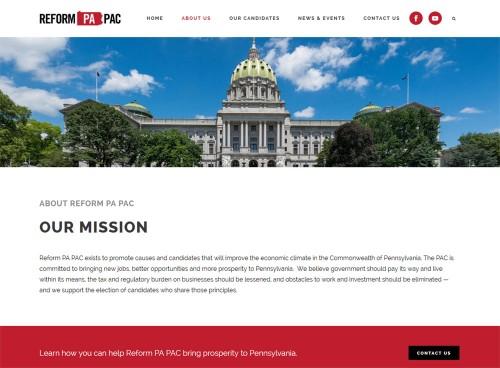 Reform-PA-PAC-Web-Site