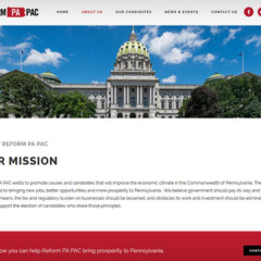 Reform PA PAC Web Site