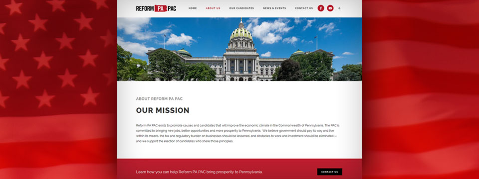 Reform PA PAC Web Site