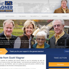Scott Wagner for Senate Web Site