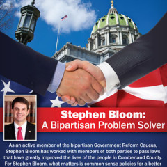 Stephen Bloom Bipartisan Mailer