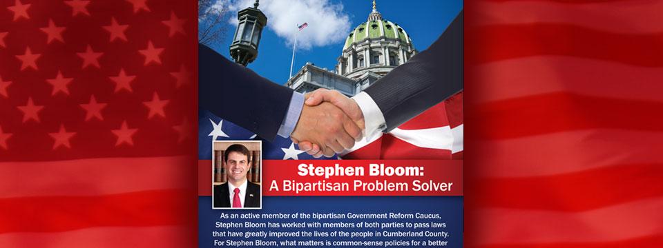 Stephen Bloom Bipartisan Mailer