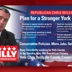 Chris Reilly for County Supervisor Mailer