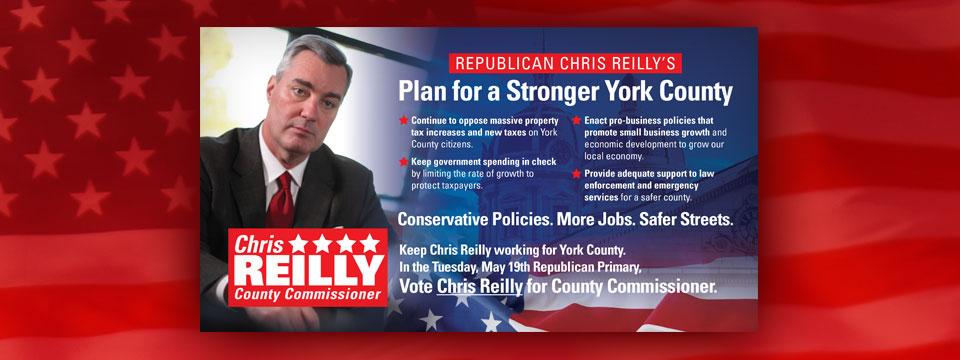 Chris Reilly for County Supervisor Mailer