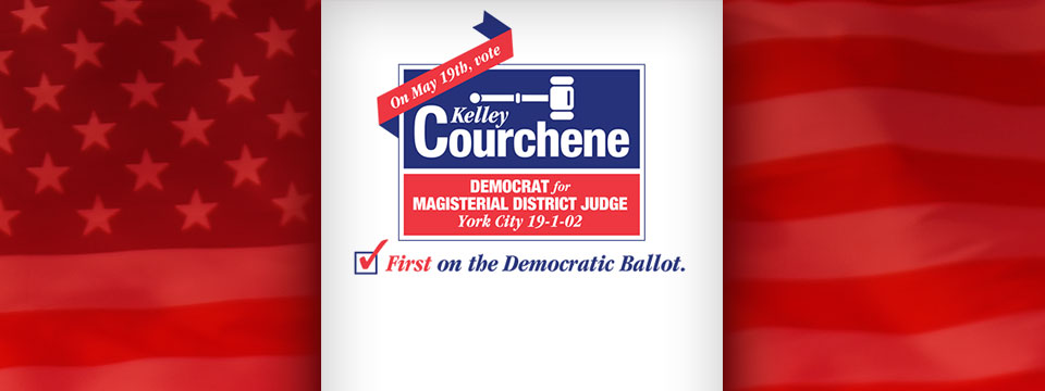 Kelley Courchene for Magisterial District Judge Scratch Pad