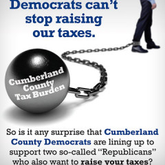 "Republican Principles for Cumberland ""Tax Burden"" Mailer"