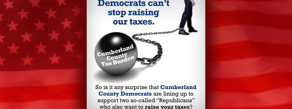 "Republican Principles for Cumberland ""Tax Burden"" Mailer"