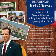 "Rob Ciervo ""Record of Accomplishment"" Mailer"