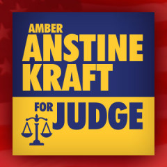Amber Anstine Kraft for Judge Logo