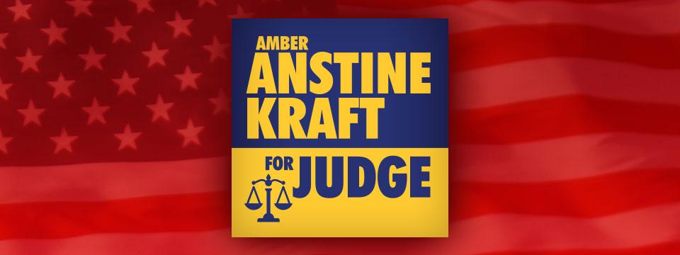 Amber Anstine Kraft for Judge Logo