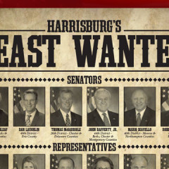 """Harrisburg's Least Wanted"" Mailer"