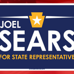 Sears for State Rep Yard Sign